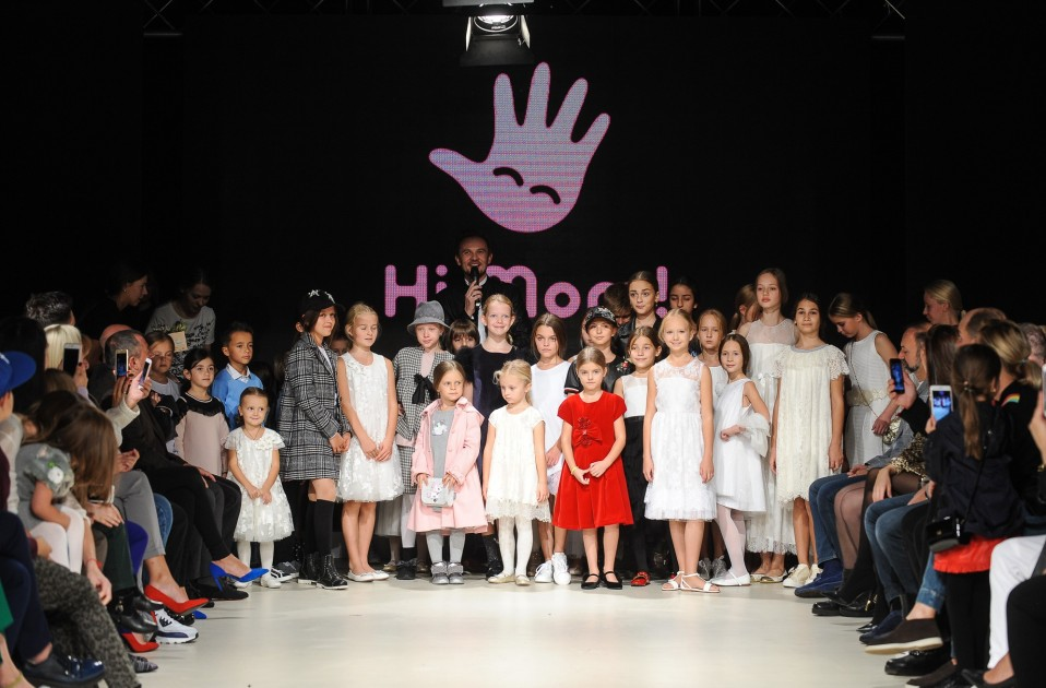 Показ Hi, Mom! в рамках Junior Fashion Week 2019