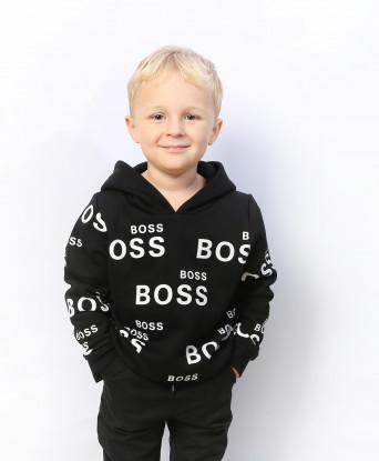 Худи на флисе Hugo Boss