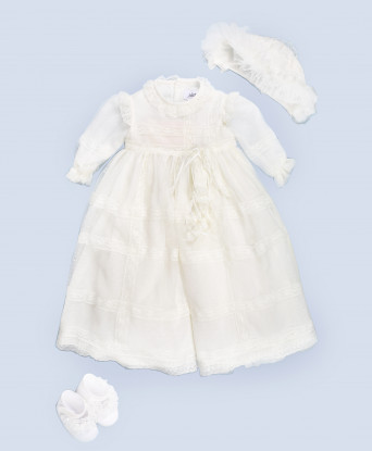 Крестильный наряд для девочки Aletta